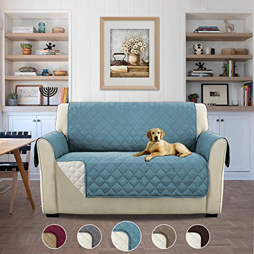 Premium Non-Slip Pet Dog Covers Living Room Sofa Slipcovers Furniture Protector, Wear Resistant & Waterproof – 46'' x 75'' Citadel