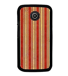 iFasho Design lines pattern Back Case Cover for Moto E