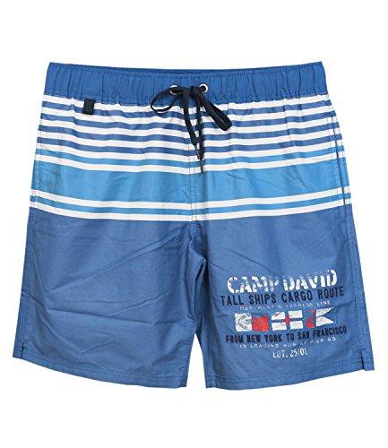 CAMP DAVID Herren Badeshorts Badehose Swim Shorts 750039, Farbe:Blau;Wäschegröße:L;Artikel:-5749