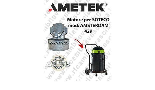 AMSTERDAM 429 Saugmotor AMETEK für Staubsauger SOTECO