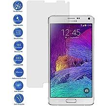 Protector de Pantalla Cristal Templado Vidrio para Samsung Galaxy Note 4