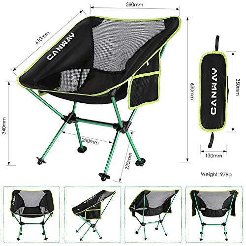 Zoom IMG-3 canway sedia pieghevole sedie da