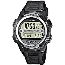 Casio Collection – Herren-Armbanduhr mit Digital-Display und Resin-Armband – W-756-1AVES