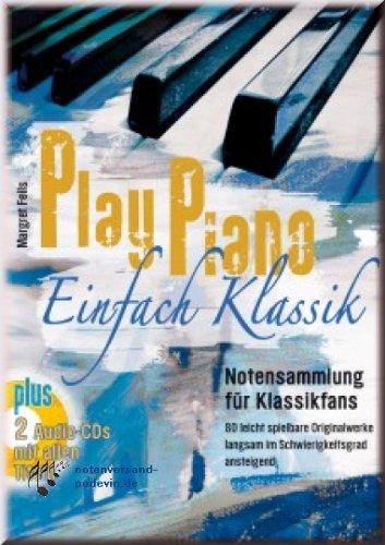 Play Piano���semplice Klassik���spartiti per Pianoforte���Raccolta spartiti per chitarra classica fa