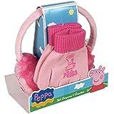 Set orejeras y guantes Peppa Pig