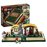 LEGO Ideas - Libro Desplegable, juguete con construcciones de famosos...