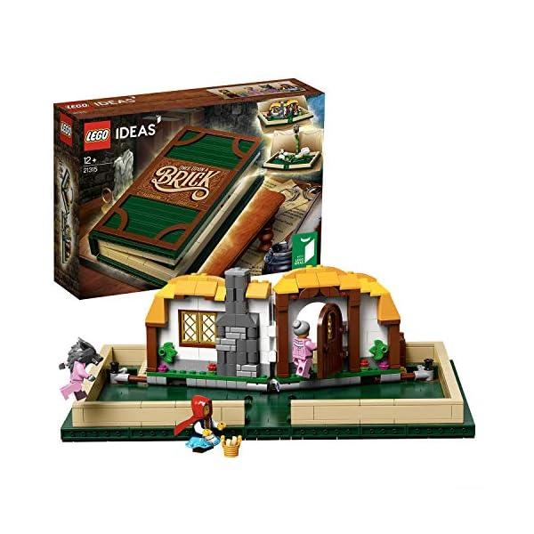 LEGO- Libro Pop-up, Multicolore, 21315 1 spesavip