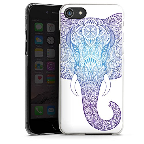 Apple iPhone 4s Hülle Case Handyhülle Elefant Mandala Ornamente Hard Case transparent