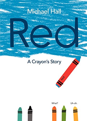 Red: A Crayon's Story por Michael Hall