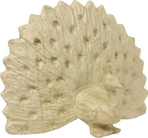 decopatch-figura-decorativa-24-cm-de-altura-papel-mache-diseno-de-pavo-real