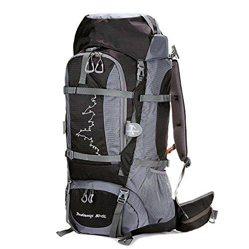 ROBAG Profi Bergsteigen Tasche Sport Walking Rucksack Large Capacity Multi - Functional 65L , black