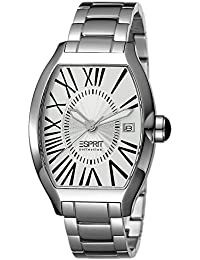 Esprit Collection Herren-Armbanduhr Hestia Pure Silver Analog Quarz Edelstahl