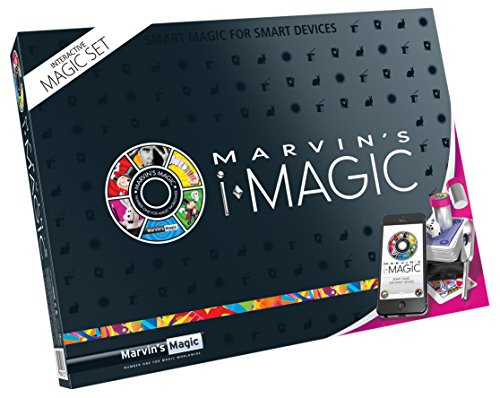 Marvin's Magic 54075 - Zauberkasten Marvin`s I - Magic (Smart Phone Tricks), Komplettset für Zaubertricks zusammen mit Handy, Zauber Set für Magier ab 8 Jahre, mit Link zu genauen Beschreibungen Mobile Magic