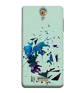 PrintVisa Designer Back Case Cover for Coolpad Mega 2.5D (Painitings Watch Cute Fashion Laptop Bluetooth )
