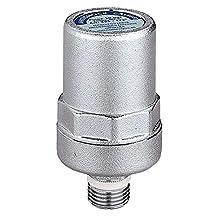 Caleffi 525040 ANTISHOCK waterslagdemper, 1/2 inch messing behuizing verchroomd