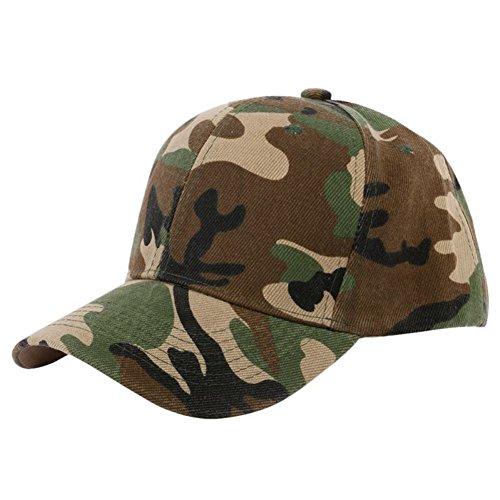 uflage Fernlastfahrer Baseballmütze Halb Mesh Dschungel Wüste Camo Retro Armee Kappen (Camo Armee Hut Für Erwachsene)