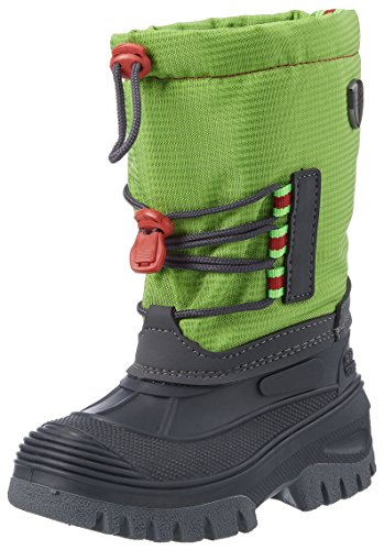 CMP Campagnolo Unisex-Kinder Ahto WP Trekking-& Wanderstiefel, Grün (Mint), 32 EU (Schnee Mint)