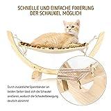 Pro Petcare   Hängematte für Katzen, Spielzeug, Schlafplatz und Trainingsgerät in Einem - 3