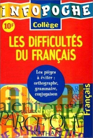 Les difficultés du français by Kyckmans (1998-01-13) par Kyckmans