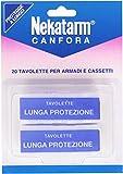 Nekatarm - Canfora, 20 Tavolette Per Armadi e Cassetti  - 100 g