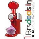 Natural Fruit Ice Cream Machine Automatic Frozen Dessert Maker Ice Cream, Sorbet Shake Machine Maker Device (Multi Color)