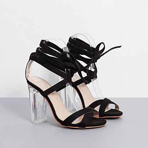ZYUSHIZ Frau Sandalen Hausschuhe der minimalistischen Stil 38EU