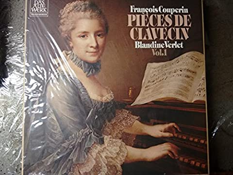 COUPERIN, François: Pieces de Clavecin vol.1 - 4. Buch, 20 < 25 Ordre-mit Christophe Coin (viola da gamba) - Produced by Astrée, France-Vinyl LP-TELEFUNKEN-TELEF 6.35411-COUPERIN Francois