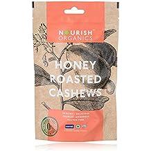 Nourish Organics Honey Roasted Cashews, 100g