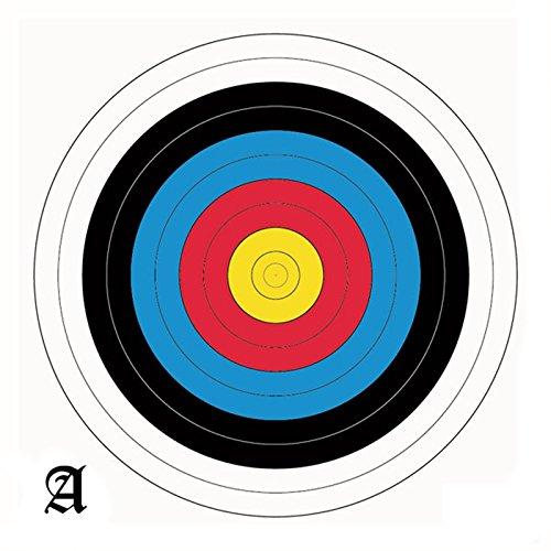 Arrowforge - 60cm Zielauflagen/ Scheibenauflagen Set mit 20 Scheiben