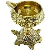 N M Z Brass Pooja Diya Home Diwali Akhand Jyot Decor