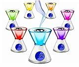 CLESSIDRA Difusor RGB de esencias y aromas para cromoterapia + reloj y fecha