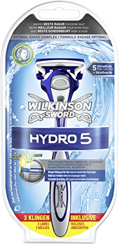 Wilkinson Sword Hydro 5 Starterset Rasierapparat mit 3 Klingen