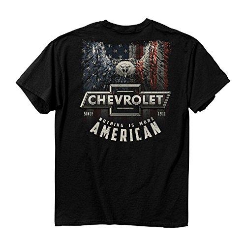 Lustig American Apparel (Buck Wear Herren T-Shirt Chevy More American Cotton, 2555-3X, schwarz, 3X)