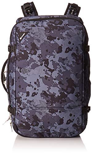 Pacsafe Vibe 40 - Anti-Diebstahl Rucksack, Diebstahlschutz Reiserucksack, Handgepäck 40 Liter, Grau Camo/Grey Camo -