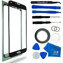 MMOBIEL Kit de Reemplazo de Pantalla Táctil para Samsung Galaxy S5 G900 / S5 Neo G903M Series (Negro) incluye pantalla de Vidrio / cinta adhesiva de 2 mm / Kit de Herramientas / Limpiador de microfibra / alambre Metálico / Manual de Instrucciones