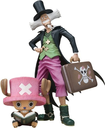 Tamashii Nations - One Piece: Tony Tony Chopper & Dr. Hiluluk, figura de 6 cm/17 cm (Bandai BDIOP776976)