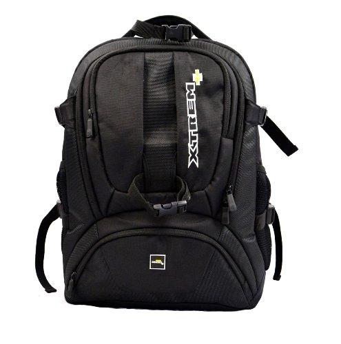 Dynamik Shuttel L von XTREM+ XTREMPLUS  - Premium Fotorucksack Kamerarucksack mit Zugriff über das Rückenteil und Diebstahl Schutz (H:50cm, B:36cm, T:24cm, Gewicht 1,9kg)