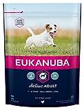 Eukanuba Adult Premium Hundefutter für kleine Rassen mit neuer und verbesserter Rezeptur – Trockenfutter für ausgewachsene Hunde von 1-8 Jahren in der Geschmacksrichtung Huhn – 1 x 1kg Beutel