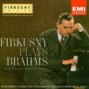 Rhapsody in G Minor/Firkusny