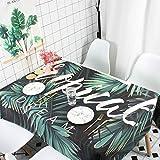 Haushaltsgegenstände, Tischdecke, Tischdecke aus Baumwolle und Leinen, wasserdichte Tischdecke, Tischdecke, runde Tischdecke, 5 110x110cm