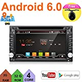 Generic Latest Version Android Universal In Dash Double din 6.2 capacitive Touch Screen