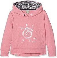 Bench Girl's Graphic Sun Sports Hoodie, Rosa (Fuchsia Purple Marl MA1043), 152 cm(Herstellergr????e: 11-12)
