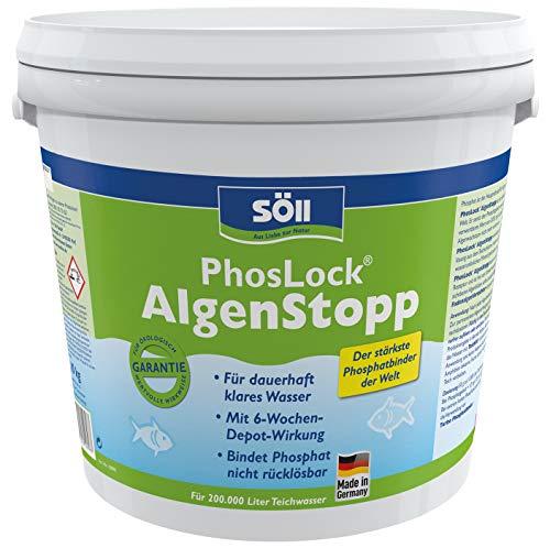 Söll 10898 PhosLock AlgenStopp - Der stärkste Phosphatbinder der Welt - 10 kg
