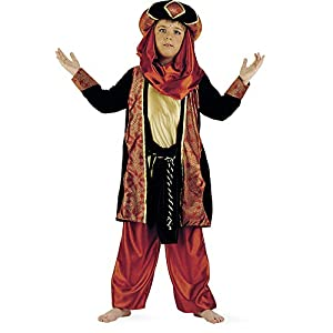 Limit Sport - Disfraz de tuareg caldera para niños, talla 5 (MI314)