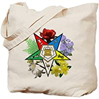 CafePress Tote Bag-Borsa, motivo floreale orientale