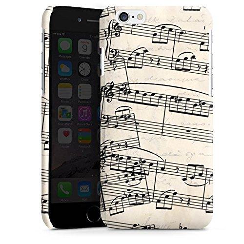 Apple iPhone 5s Housse étui coque protection Partitions de piano Motif Motif Cas Premium brillant