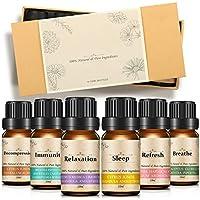 Slimerence Aromatherapie ätherische Öle, aromatherapie öle Geschenk Set & Kit, (6 x 10 mL Essential Oils, 100... preisvergleich bei billige-tabletten.eu