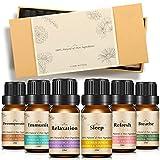 Slimerence Aromatherapie ätherische Öle, aromatherapie öle Geschenk Set & Kit, (6 x 10 mL...