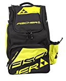 Fischer Uni Backpack Race L Sac à dos, Black/Yellow, 55