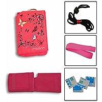 Insulinpumpe Universal Tasche Value Pack -Rosa Schmetterlings preisvergleich bei billige-tabletten.eu